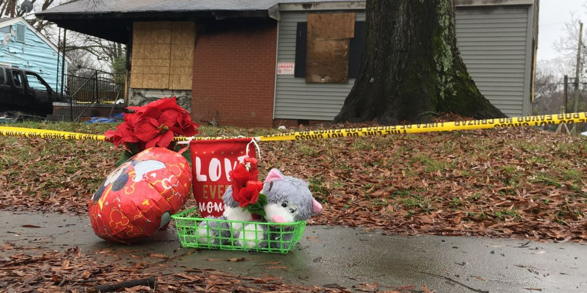 Mother, two young children killed in East Charlotte house fire