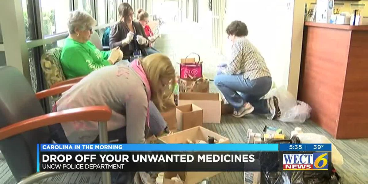 Operation Medicine Drop: Properly disposing your medicine and keeping your kids safe