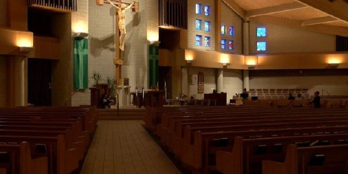 Catholic churches take precautions against the flu