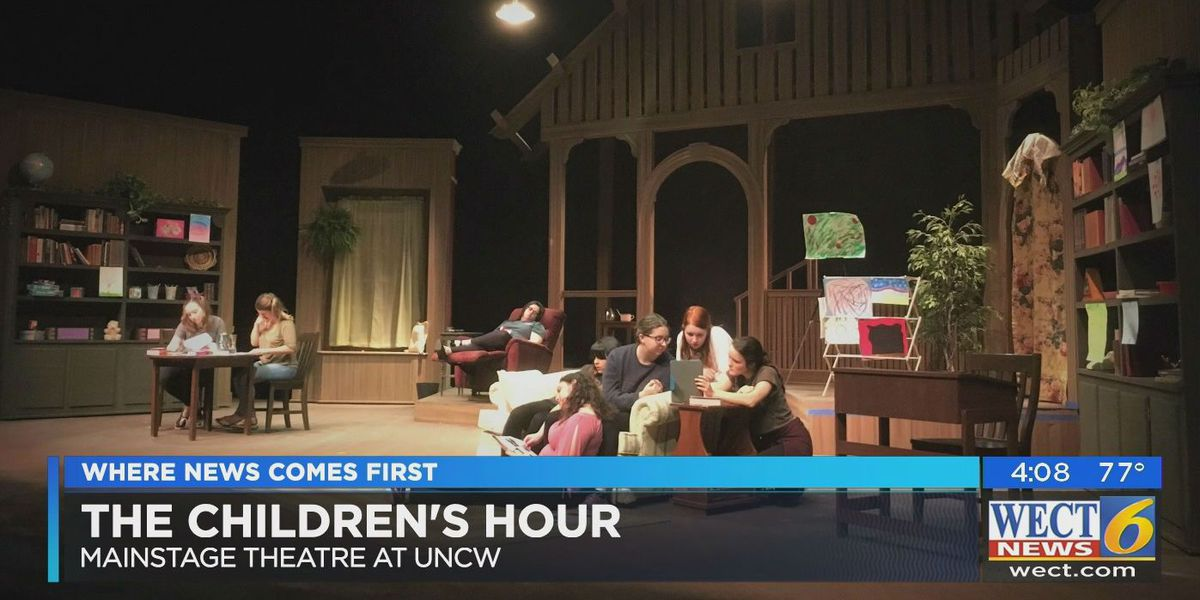 UNCW students perform 1934 play 'The Children's Hour' with a 2017 twist