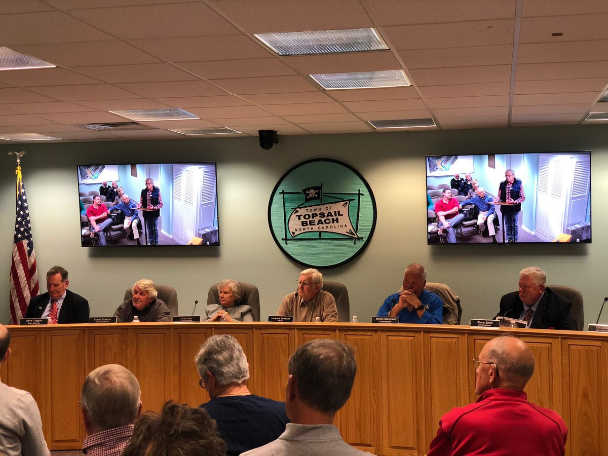 Topsail Beach Board of Commissioners approves temporary housing resolution for Florence survivors
