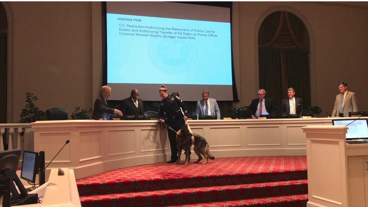 Wilmington Police K9 retires after six years of service