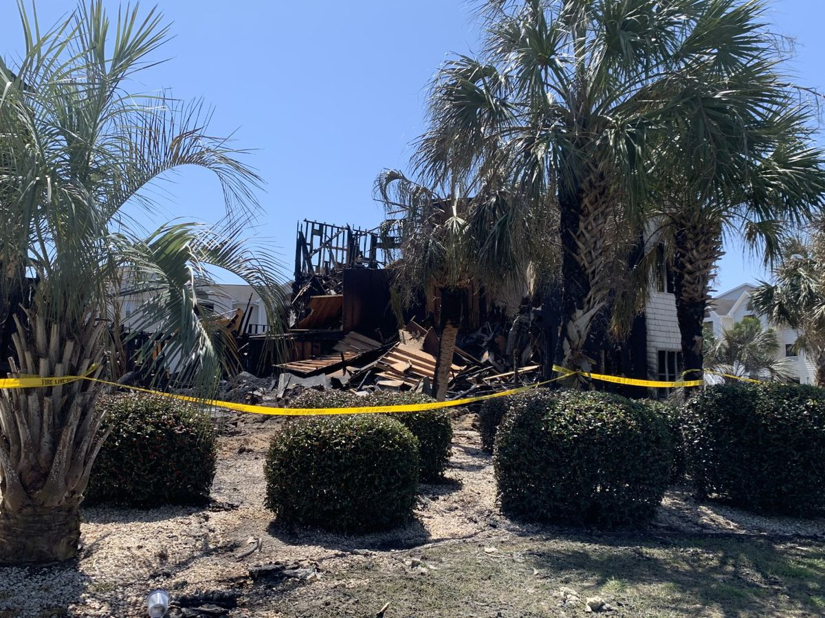 Carolina Beach Fire Chief indicates cause, starting point of Paradise Cove fire