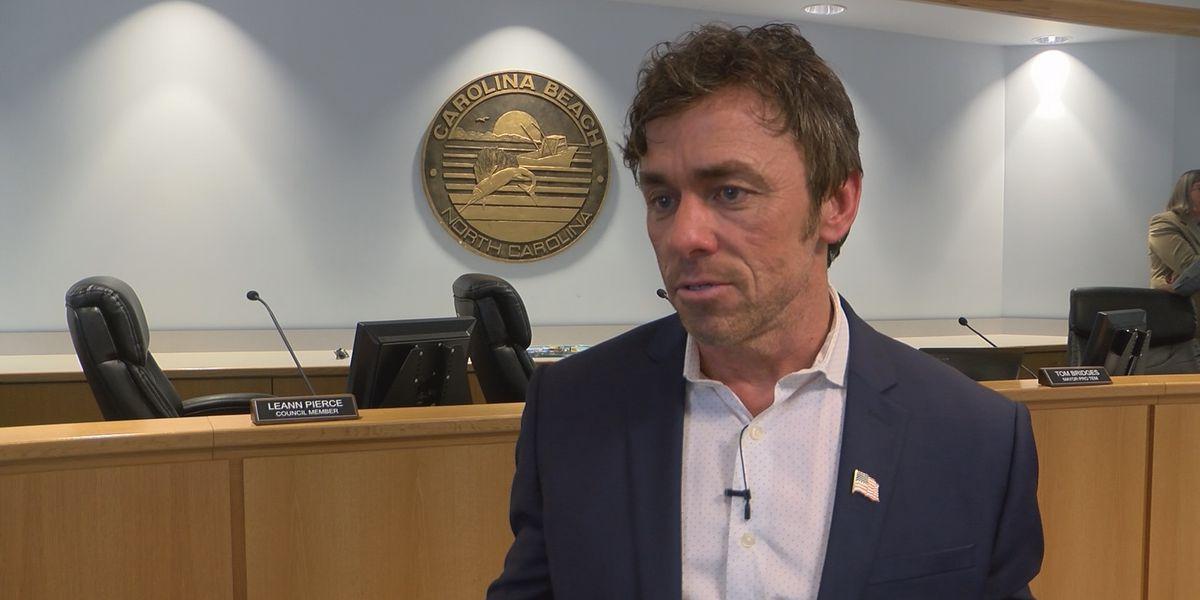 Carolina Beach mayor won't seek reelection
