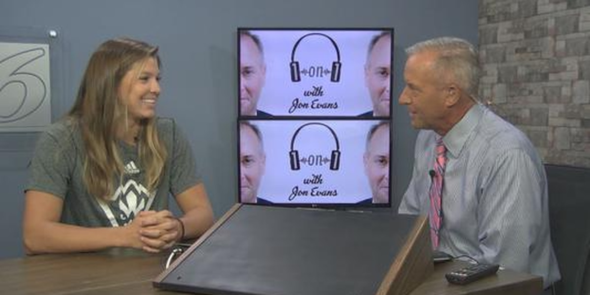 "Lacey Suggs, UNCW Lady Seahawks' co-captain, is on this week's ""1on1 with Jon Evans"" podcast"