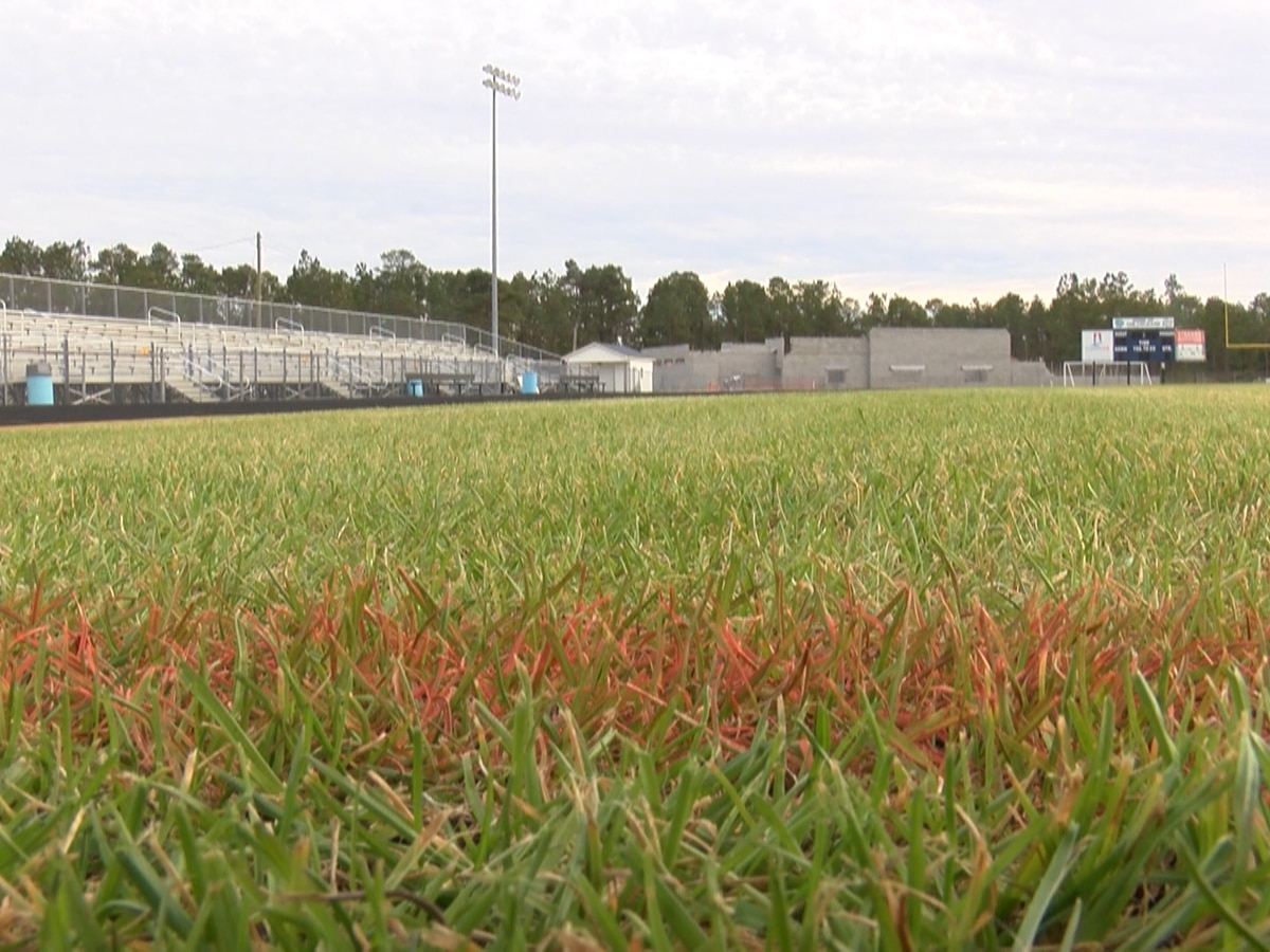 Three high school stadiums to score new, artificial turf fields