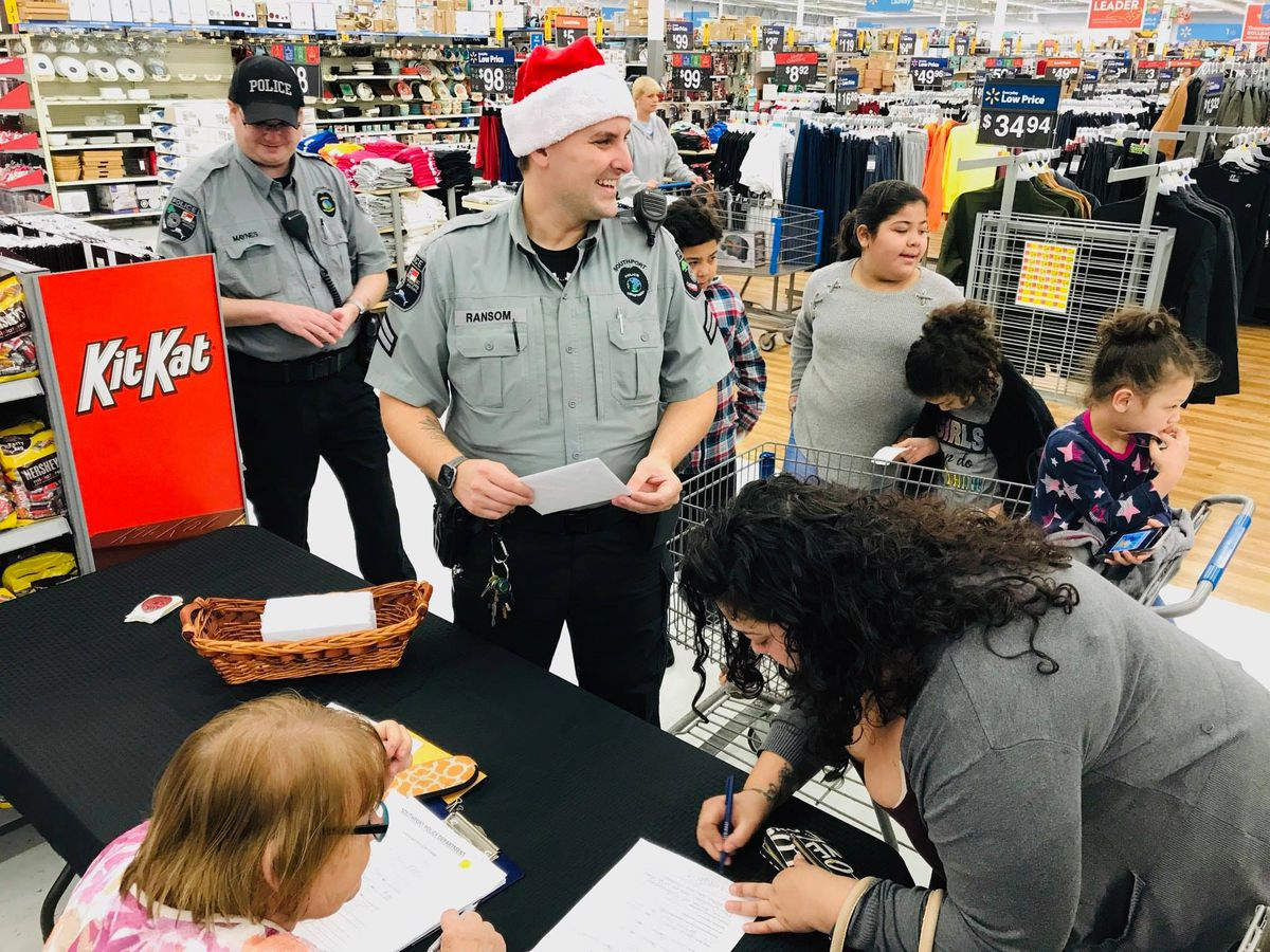 Southport Shop with a Cop program happening this weekend