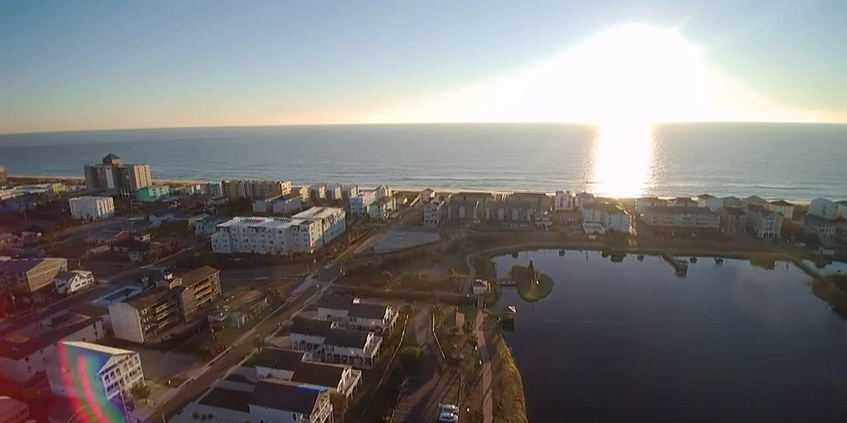 SKY TRACKER: Morning view of Carolina Beach