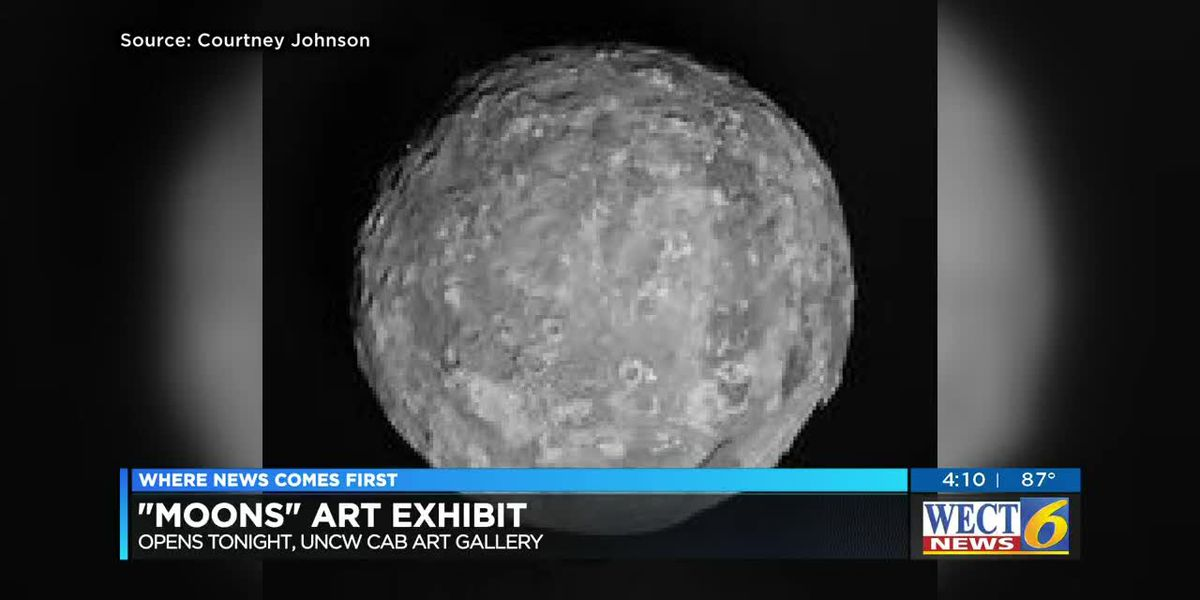 New art exhibit uses the moon as inspiration