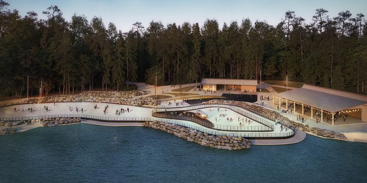 New ice trail becomes cool feature at U.S. National Whitewater Center