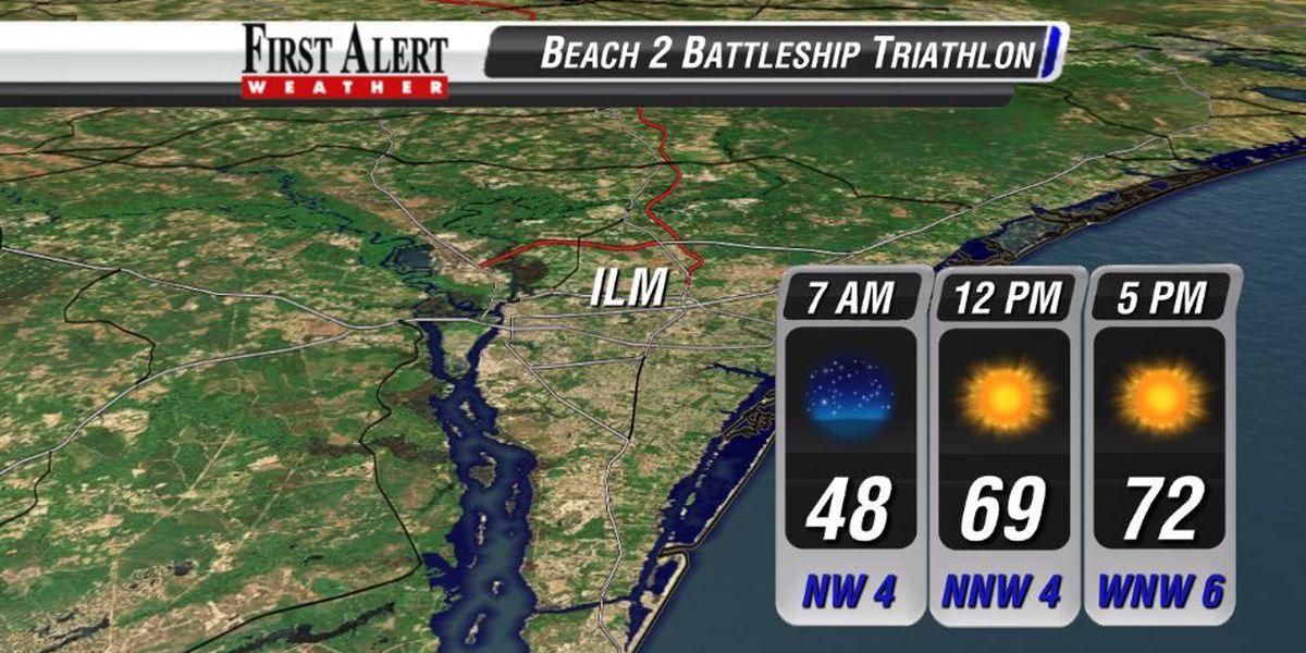 FORECAST: Fantastic weather for Beach 2 Battleship triathlon
