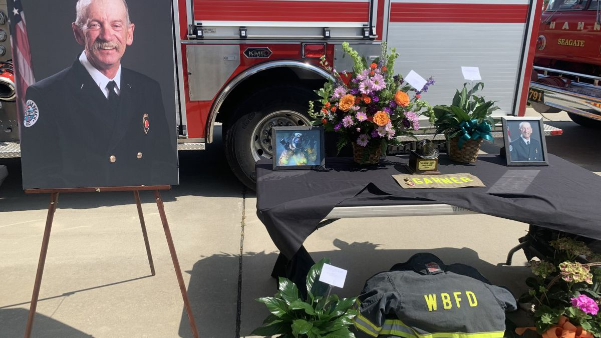 Community celebrates retired assistant fire chief's life, legacy