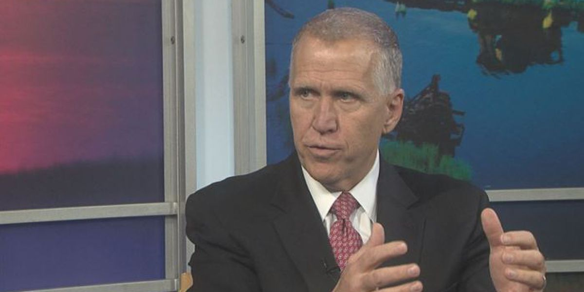 Tillis: 'President is a disruptive force, in a positive way'