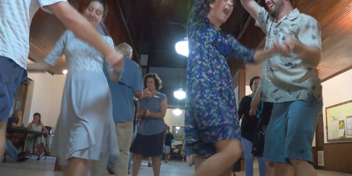First at Four: Learn how to Contra Dance and spin around the floor