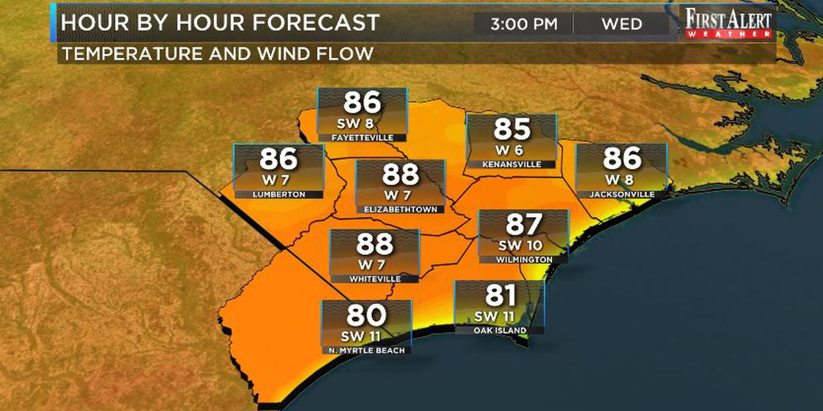 First Alert Forecast: trending toasty, sunny and dry