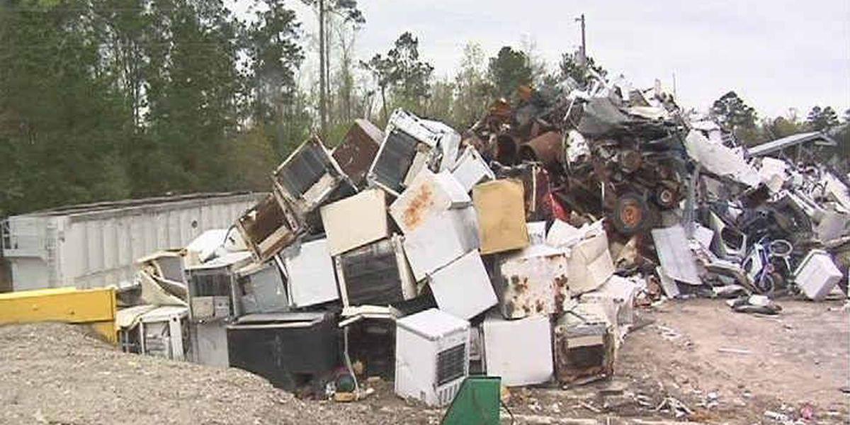 Free dump week in Brunswick County
