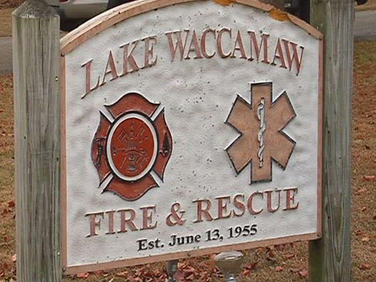 Crews searching for person at Lake Waccamaw