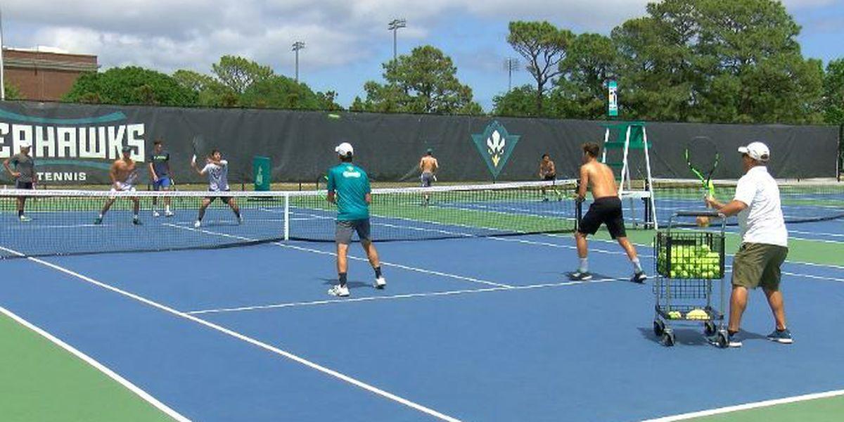 UNCW men's tennis ready to battle Vols in NCAA tournament