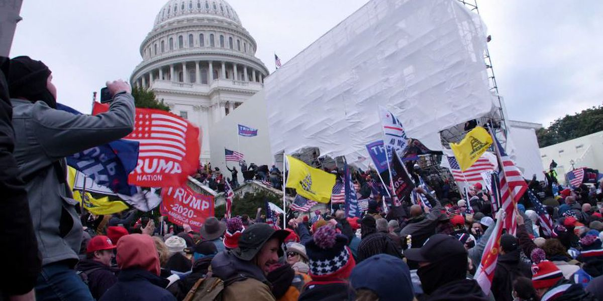 Dozens charged in Capitol riots spewed extremist rhetoric
