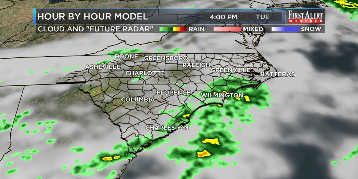 First Alert Forecast: Radar dressed in green for St. Patrick's Day
