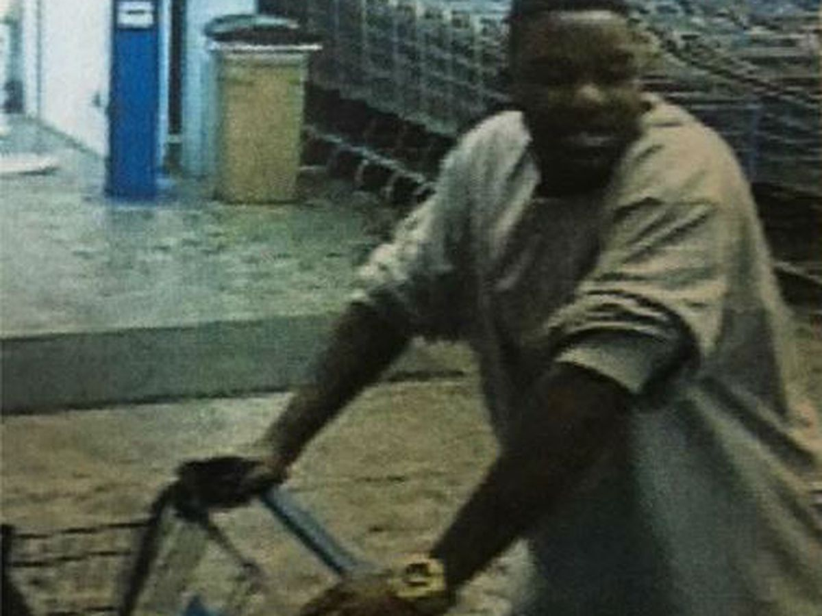 Southport police looking for man accused of Walmart thefts