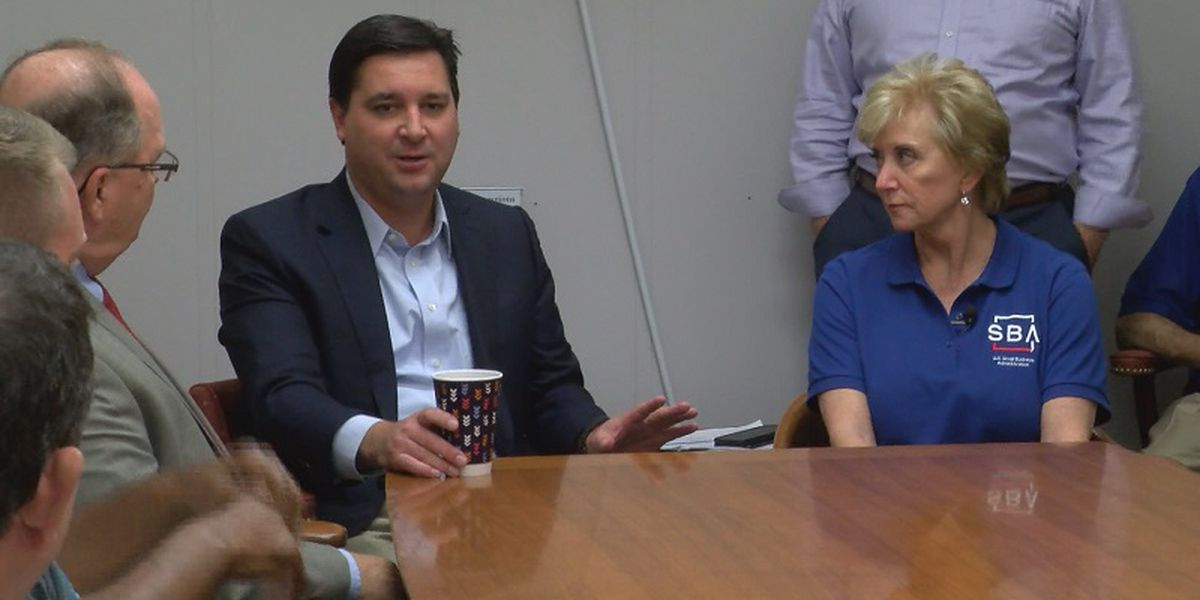 SBA administrator visits Whiteville to speak with small business owners