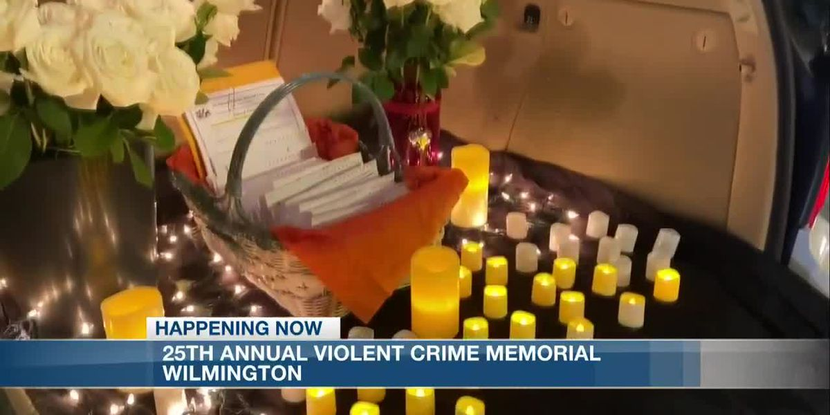 The 25th victims of violent crime memorial takes place in downtown Wilmington