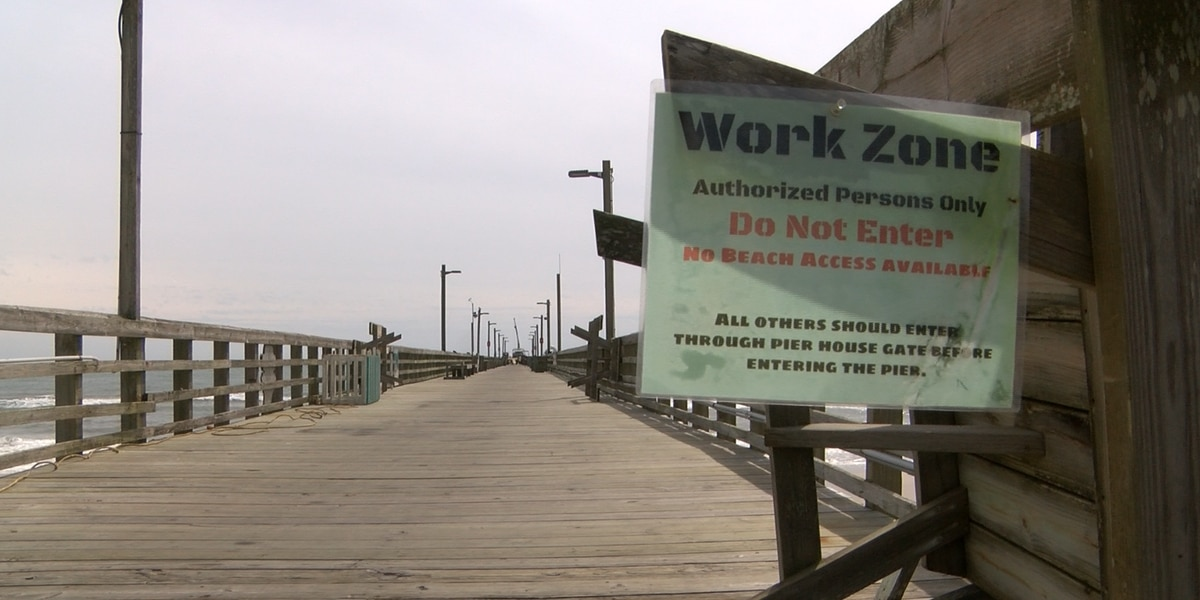Surf City pier repairs set to be done by the end of the month