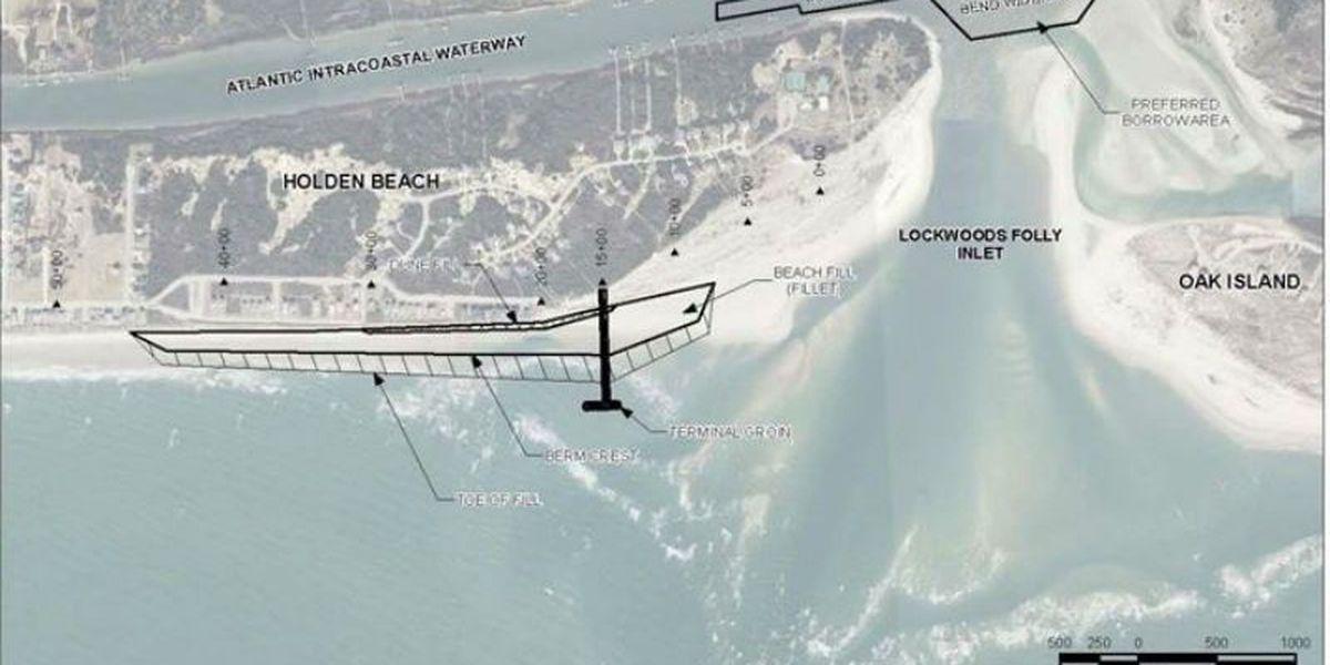 Holden Beach terminal groin proposal withdrawn