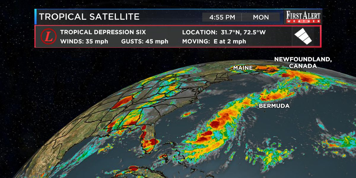 First Alert Forecast: very active tropics, locally nice conditions