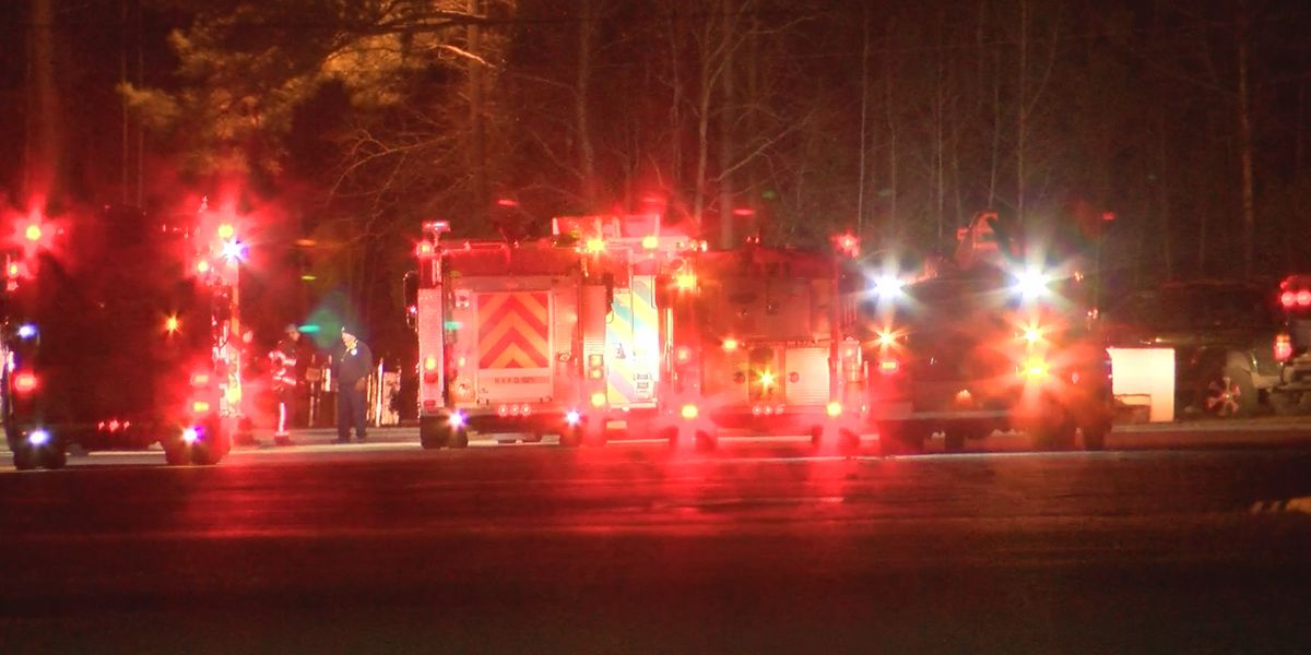 Fire crews respond after pump motor overheats at Brunswick County business