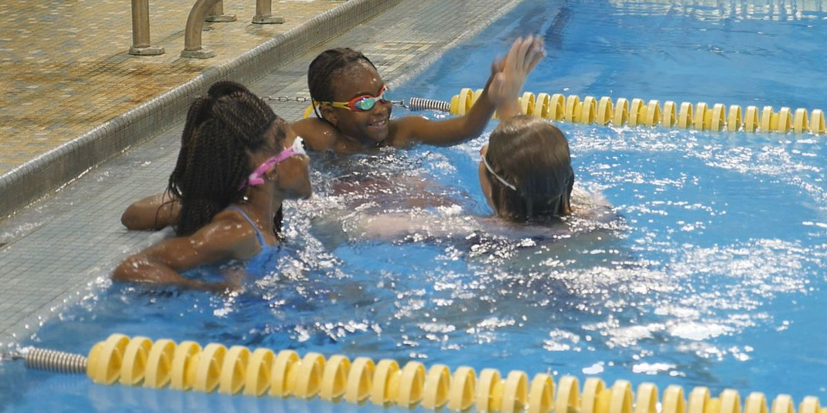 Learn to swim program at UNCW provides lessons for children in underserved communities