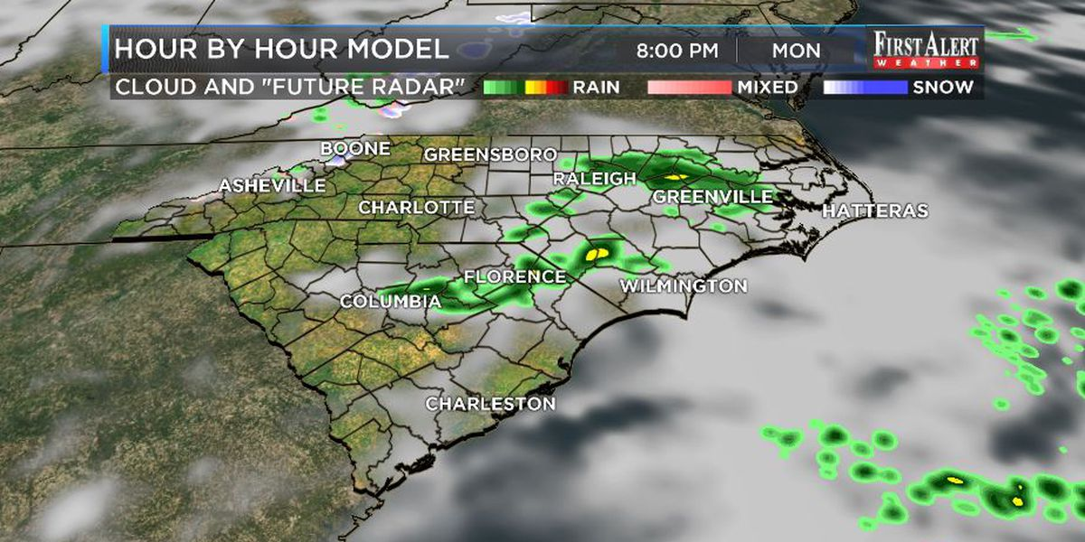 First Alert Forecast: consistent chill, varying rain chances