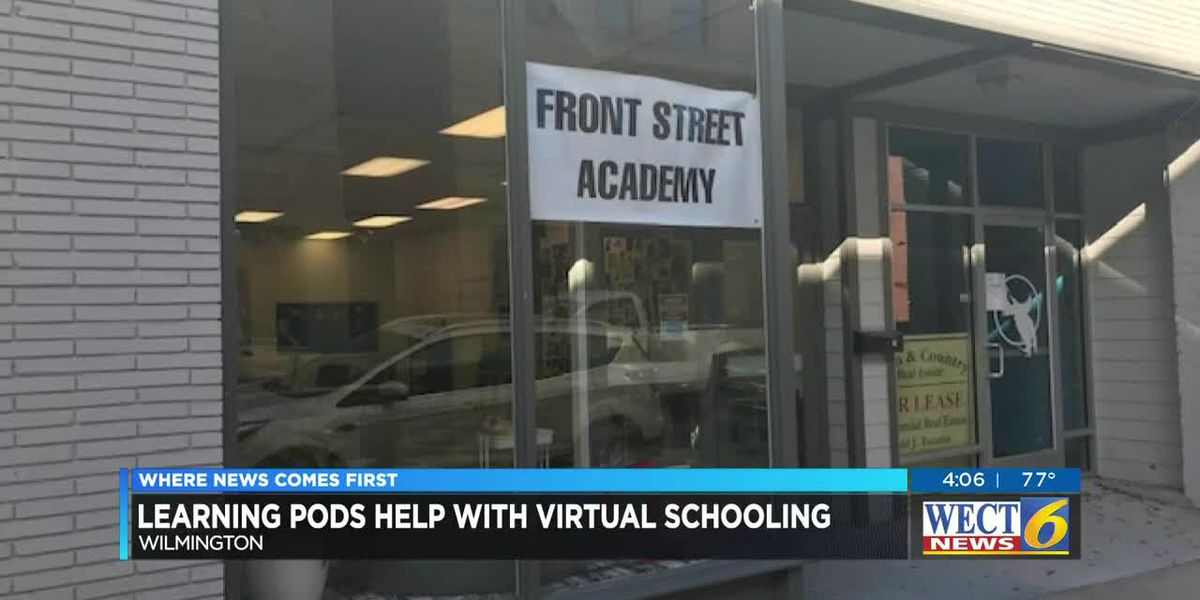 Learning Pods help with virtual schooling
