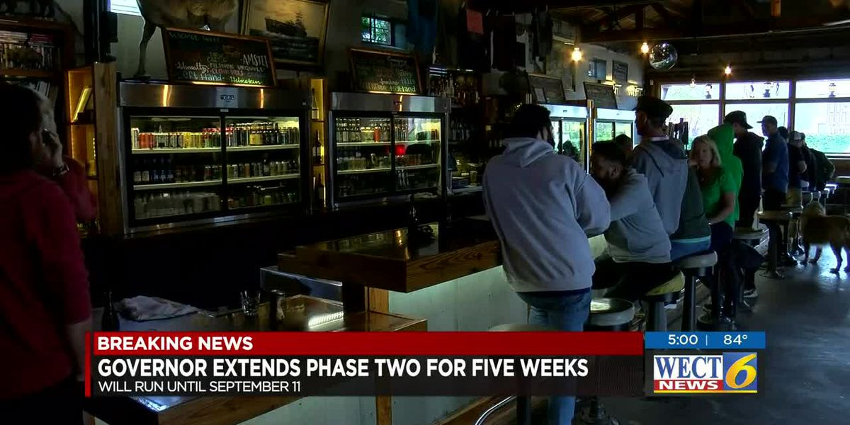 Cooper: State to remain in Phase 2 for five more weeks