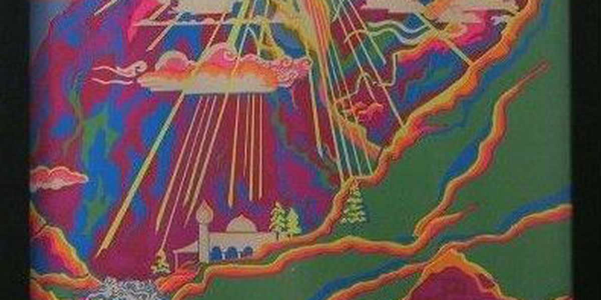 First at Four: Rare collection of psychedelic art is on display