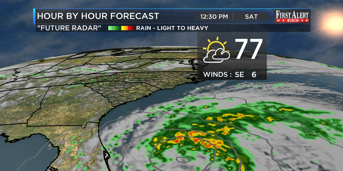 First Alert Forecast: 80s set to make a comeback, eyeing potential tropical system
