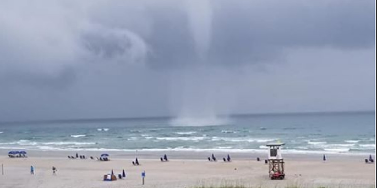 Waterspout confirmed off of Wrightsville Beach