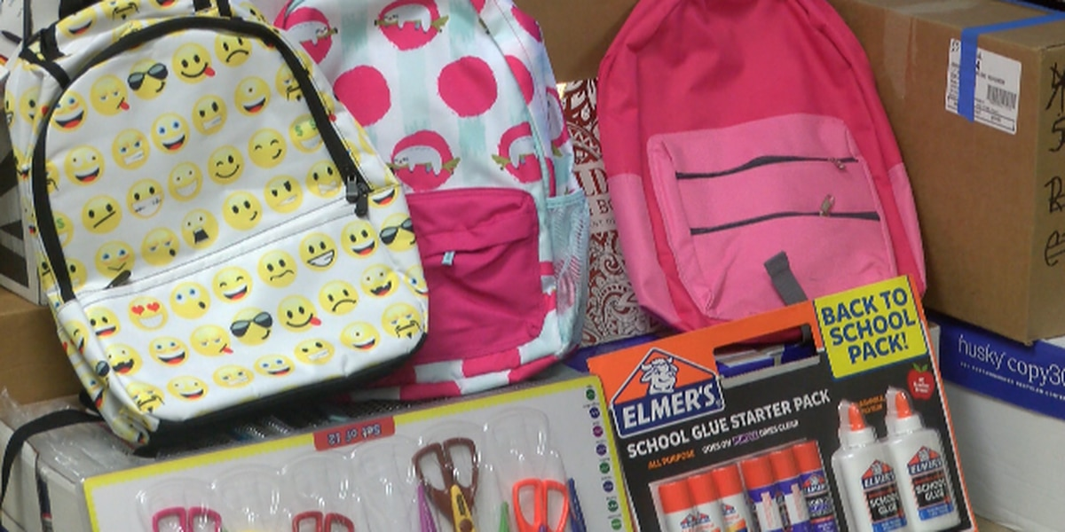 Burgaw Elementary students treated to brand new school supplies