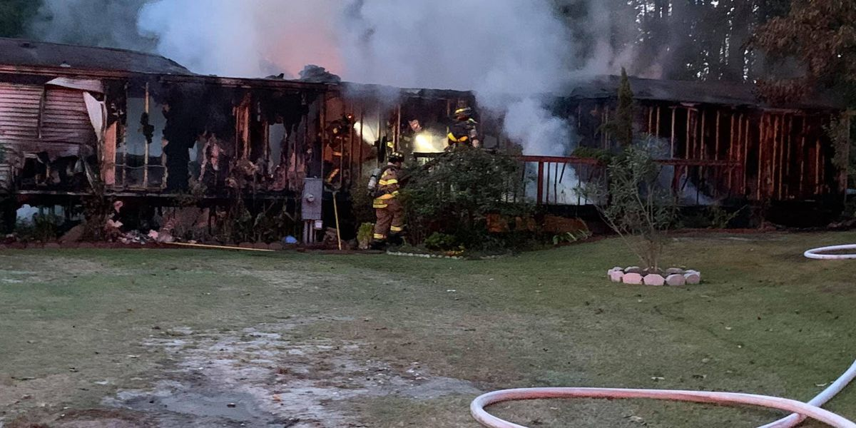 No injuries reported in Brunswick County fire