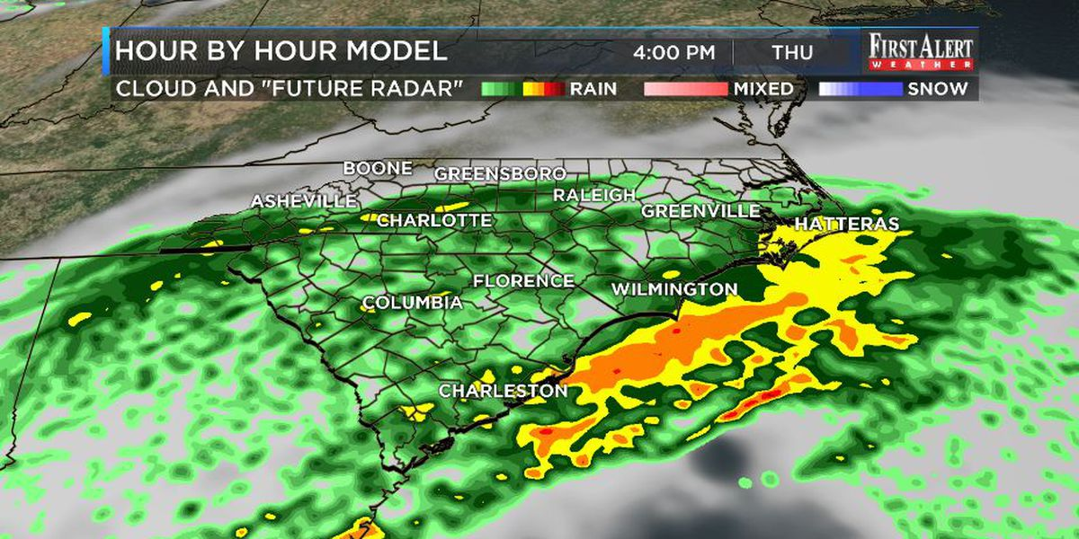 First Alert Forecast: a chilly rain, then just chilly