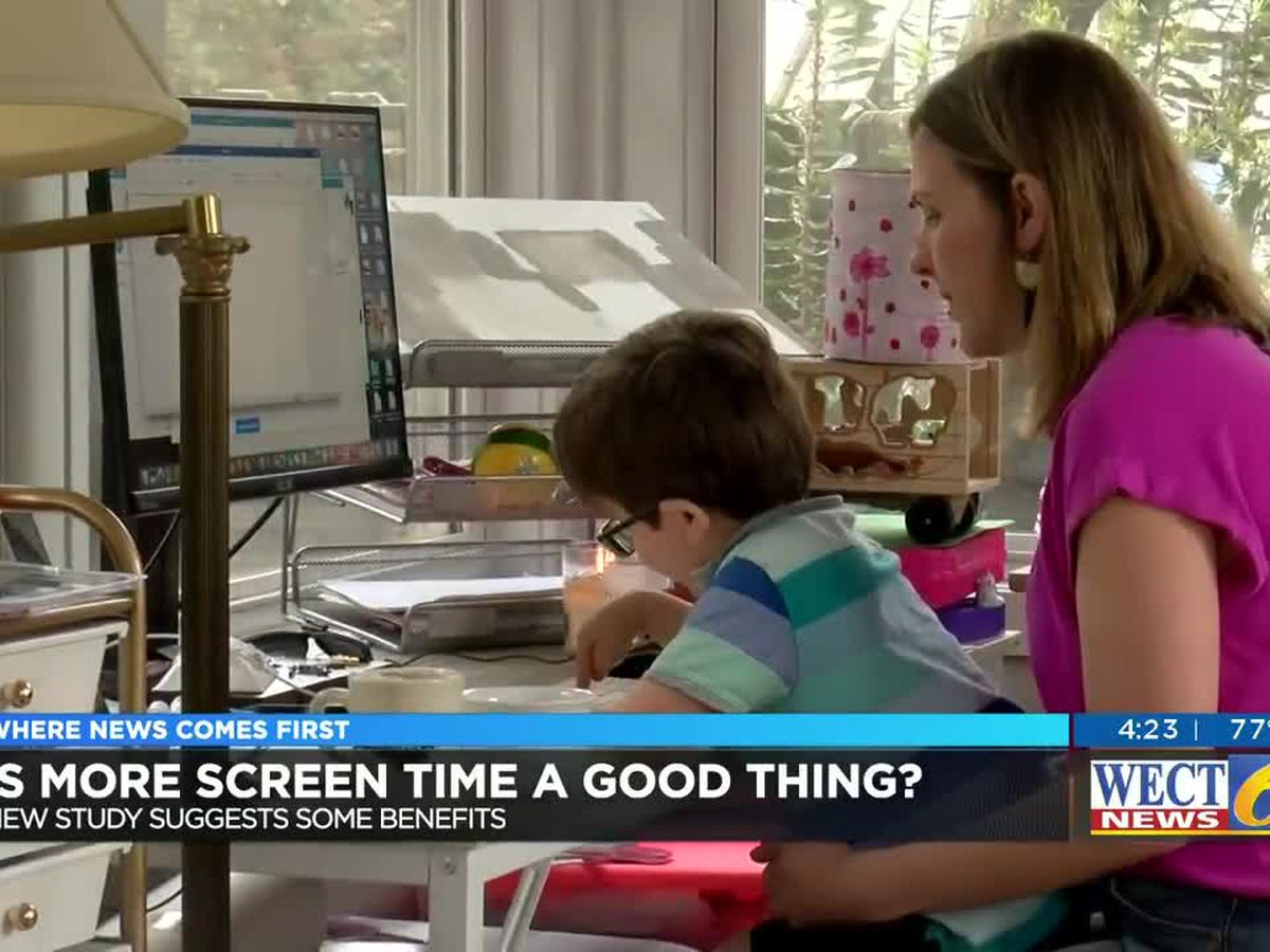 Screen time up in response to pandemic so find beneficial uses