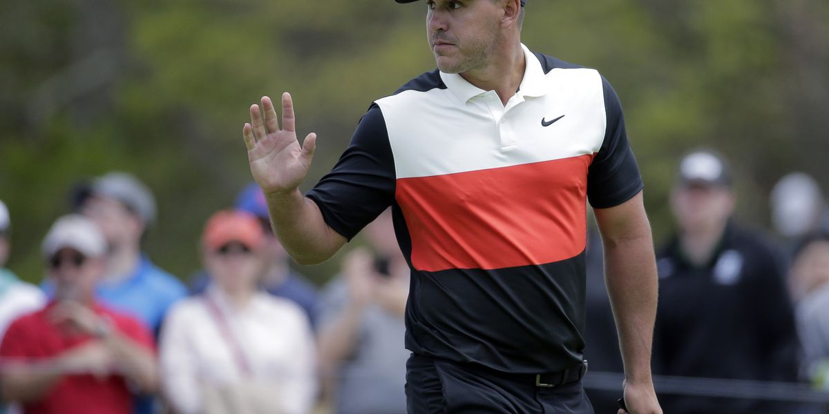 Mickelson shoots 1-under 69, trails Koepka by 6