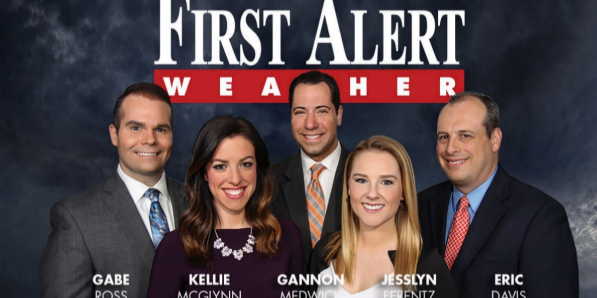 First Alert Forecast: two fronts... a baby Thursday night and a beast Sunday night