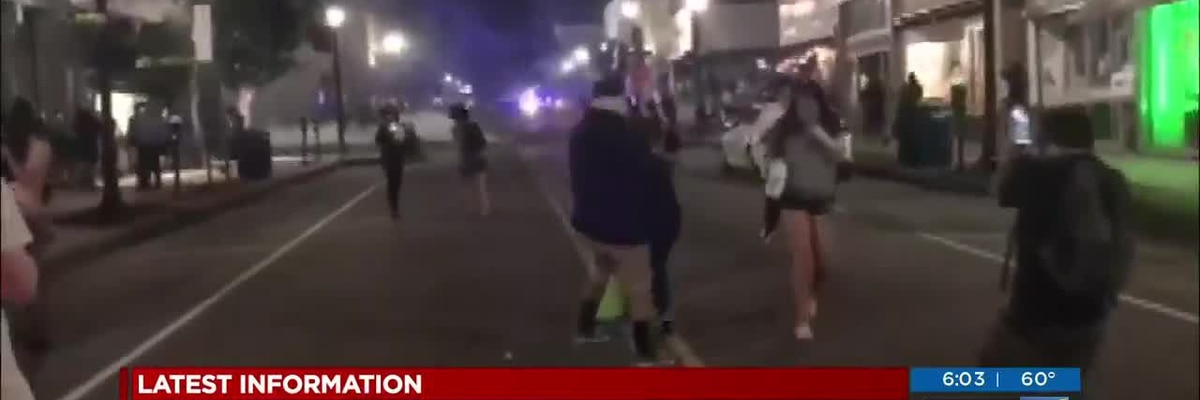 """Reporters Covering Protests: Tear gas, rocks and emotions (""""1on1 with Jon Evans"""" podcast)"""