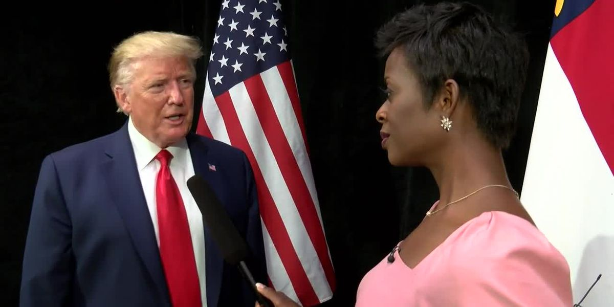 Exclusive: President Donald Trump speaks to WBTV about Dorian, elections and the RNC