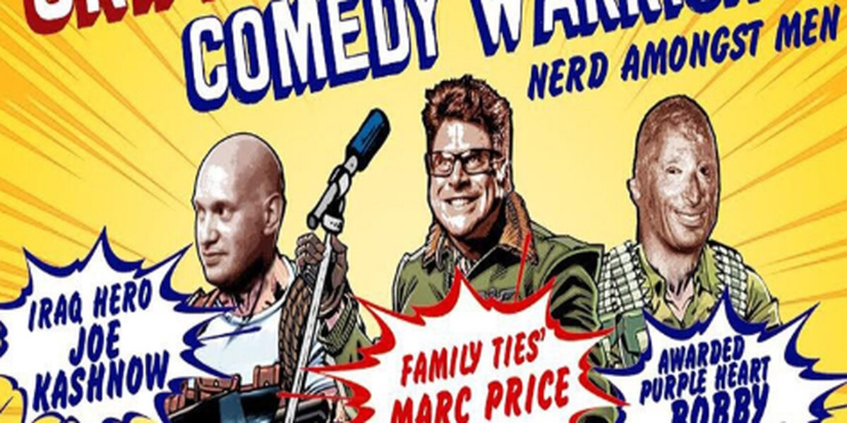 Skippy and The Comedy Warriors perform at Thalian Hall Saturday