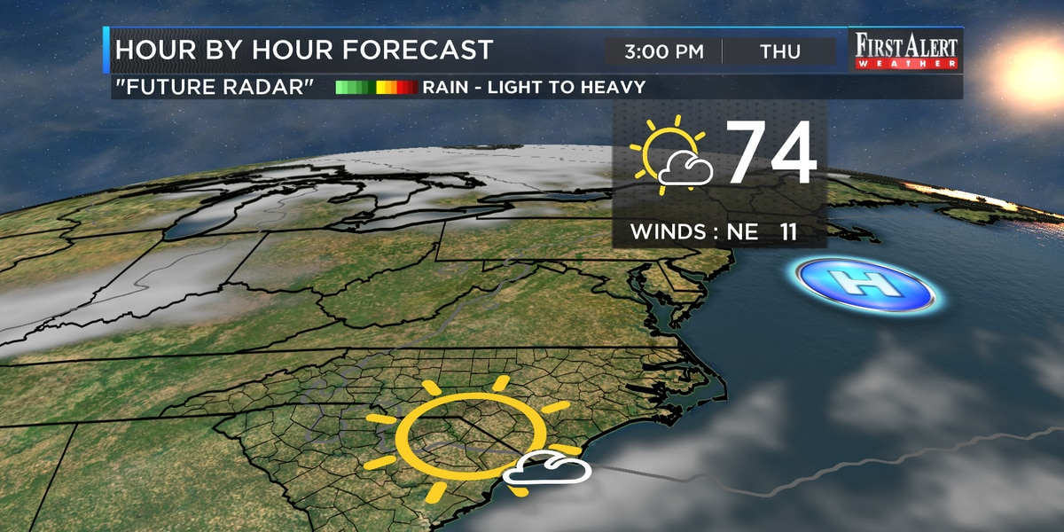 First Alert Forecast: nice fall weather through Thursday, unsettled weather returns soon