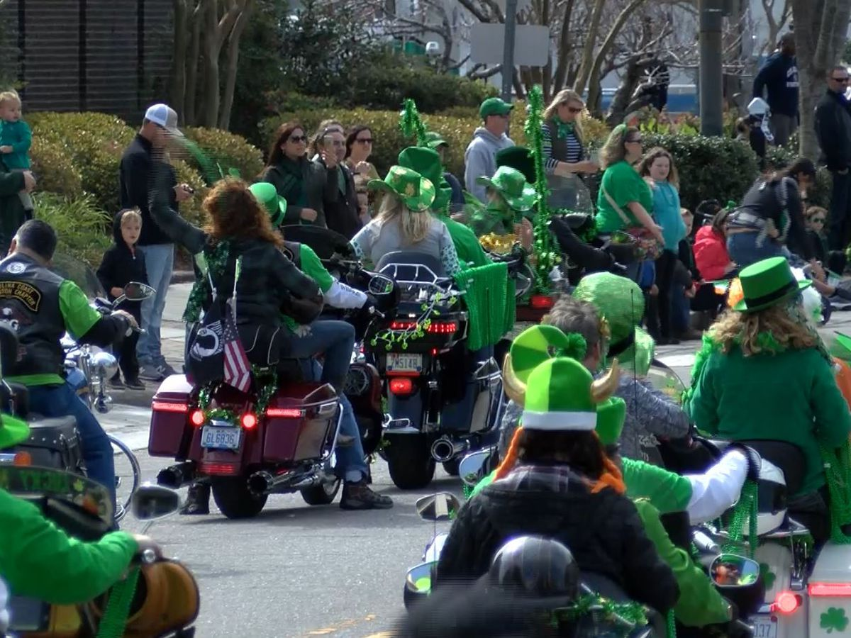 St. Patrick's Day weekend parade draws large crowd in Downtown Wilmington