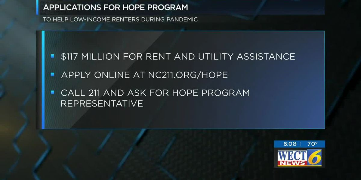 Governor Cooper announces new rent and utility assistance program